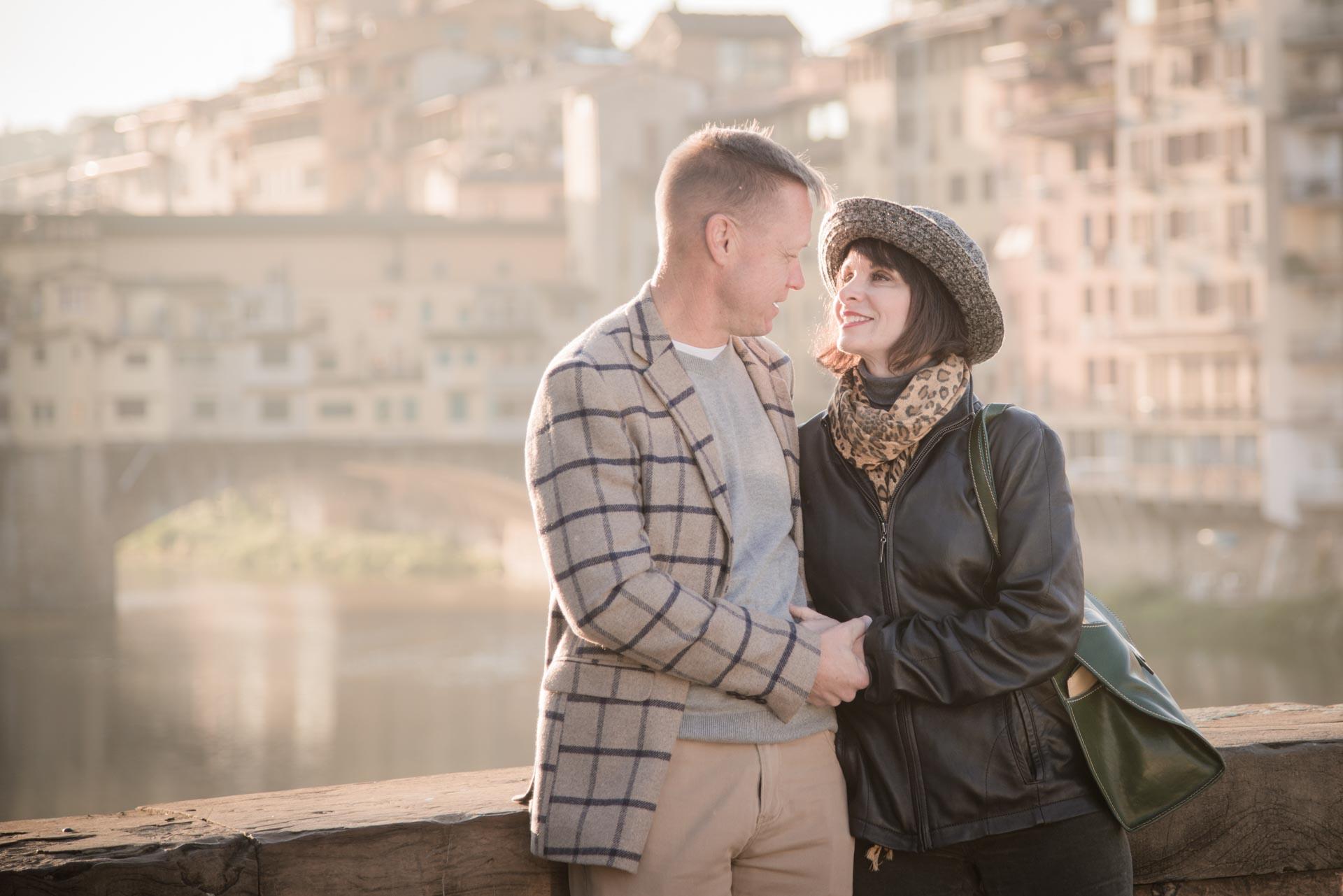 Romantic Anniversaryin Florence