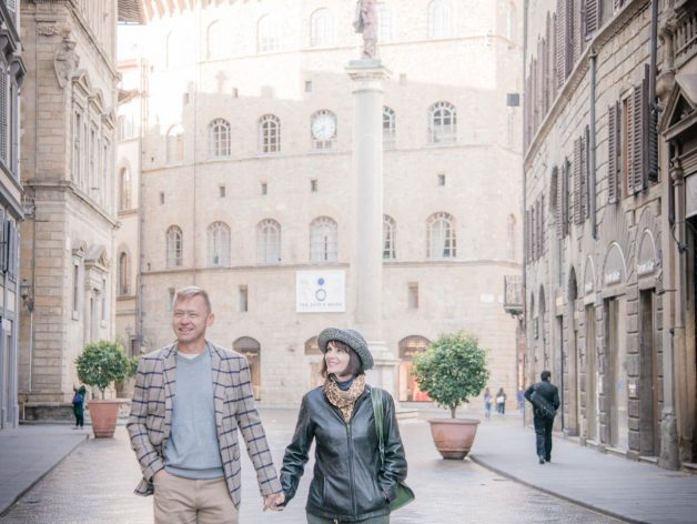 Romantic Anniversary in Florence