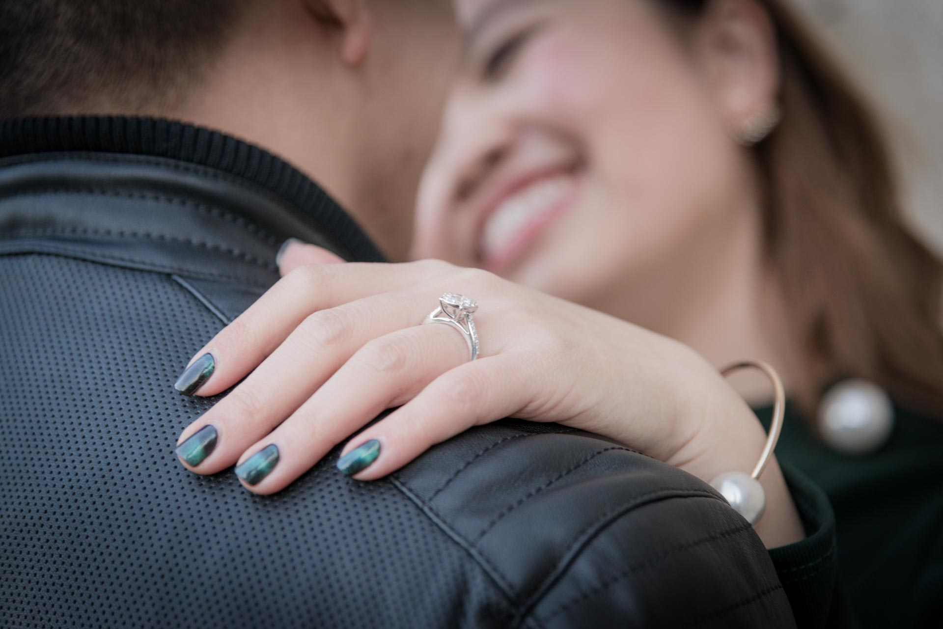 Intimate Winter Engagement in Florence