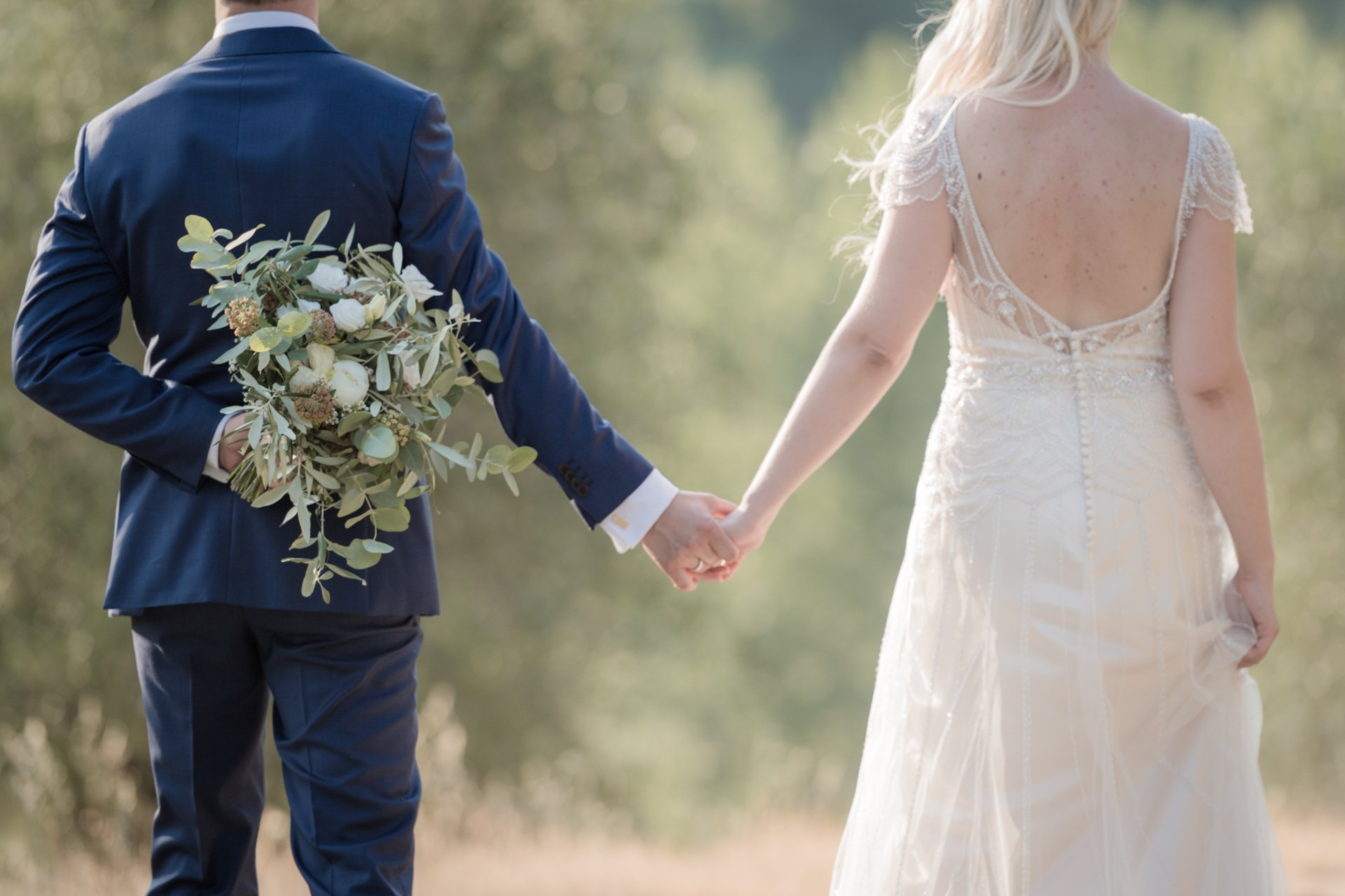 Danish Rustic Chic Wedding in Chianti