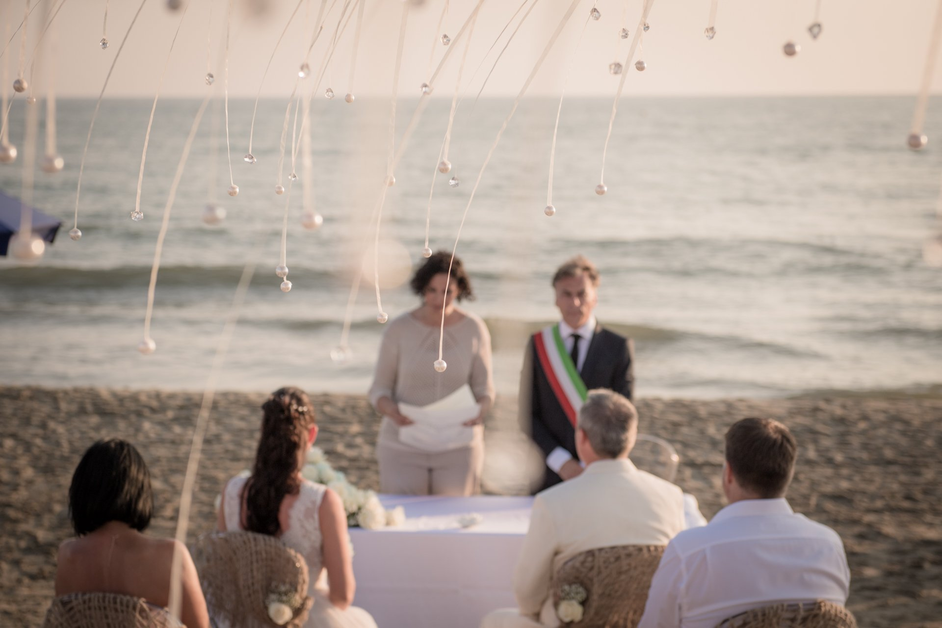 Austrian Beach Wedding in Viareggio