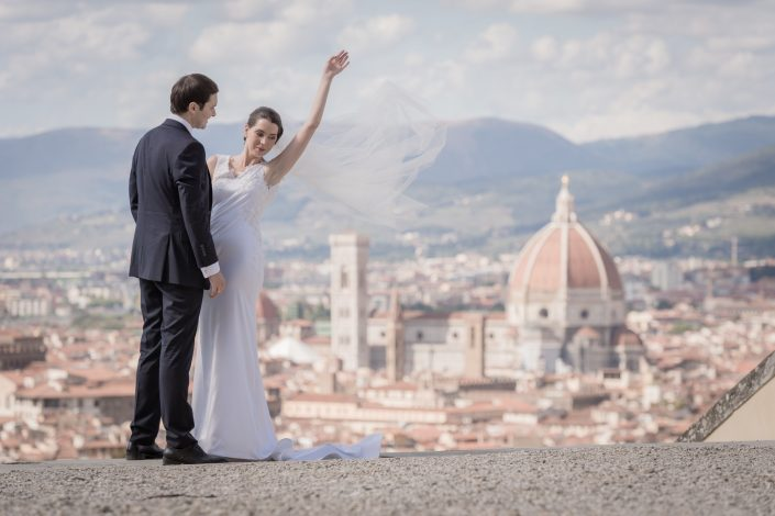 Why choose Florence and Tuscany for your wedding day