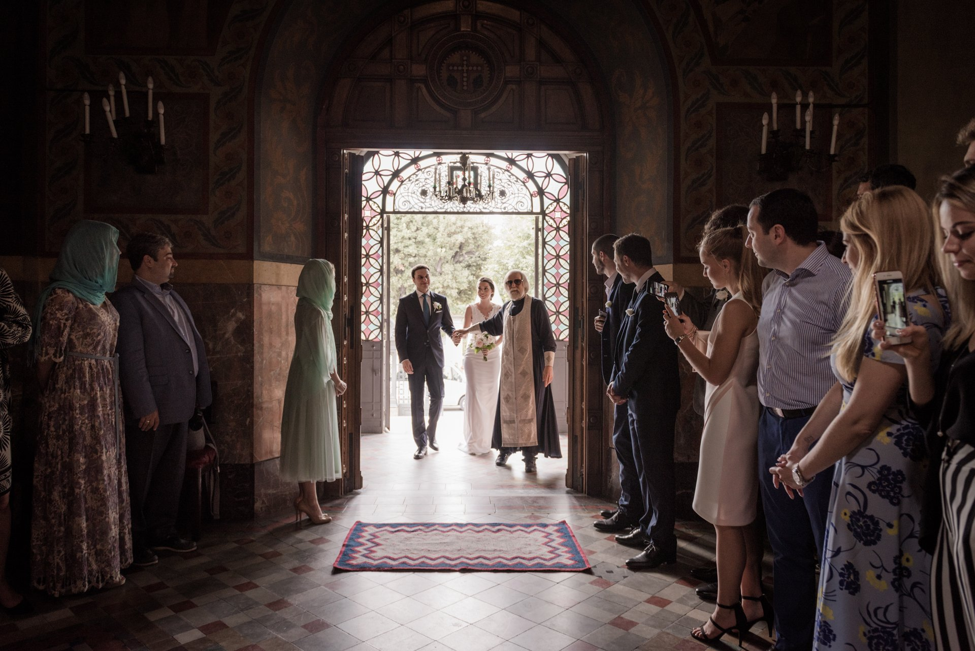 Orthodox Russian Wedding in Florence